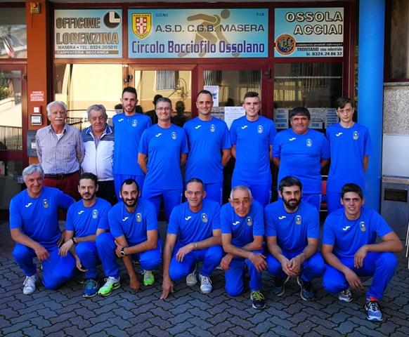 b987da613f Presidente Corbelli G. - massaggiatore Storno L. - Foppiano R. - Amadei F.  - Basso D. - Crovo G. - Mellerio S. - Frattoni L. -